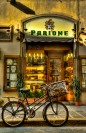 Florence, Italy, storefront, bicycle