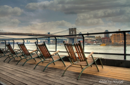 south street seaport, New York, Brooklyn Bridge, HDR