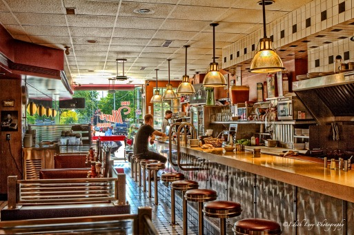 mars diner, Toronto, retro, eatery, HDR