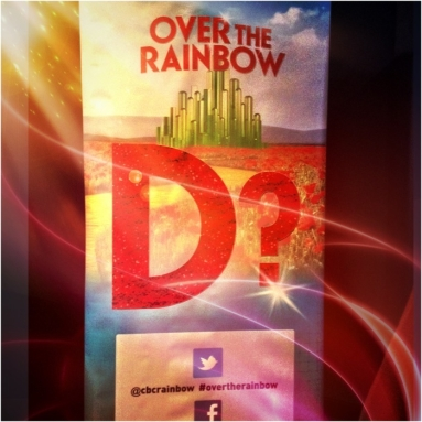 Over the Rainbow, Wizard of Oz, Dorothy, Andrew lloyd Webber, CBC