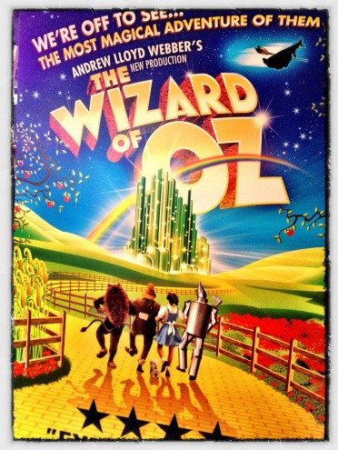 Wizard of Oz, Over the Rainbow, Andrew Lloyd Webber
