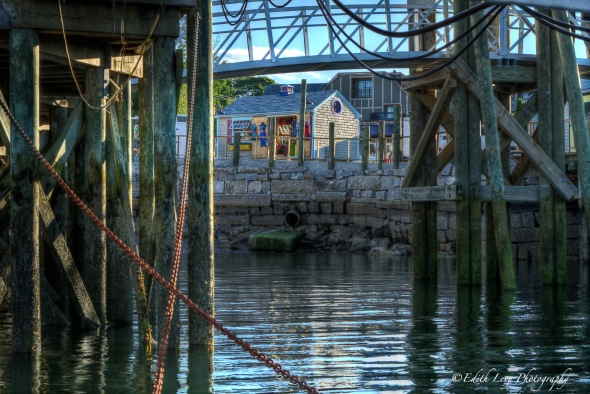 pier, Bar harbour, Stewman's Lobster Pound, HDR, Maine,
