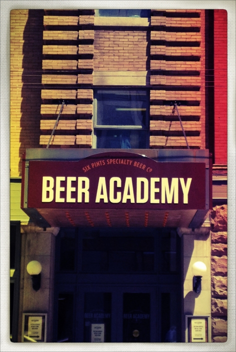 iphone, iphoneography, toronto, beer academy, snapseed, phototoaster