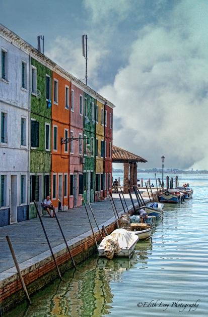 Burano, Venice, venetian lagoon, Italy, island