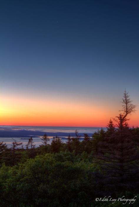Cadillac Mountain, Sunrise, Acadia National Park, Maine, Bar Harbor, Landscape, travel photography
