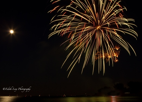 fireworks, Ashbridges Bay, Toronto