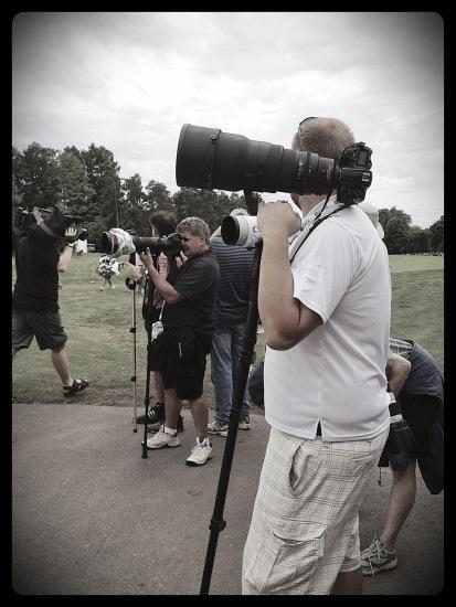 golf, 2012 Canadian open, Hamilton Golf & Country Club, photographers