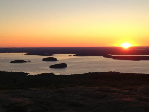 iPhone, iPhoneography, Maine, Acadia National Park, sunrise, Cadillac Mountain