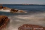 Acadia National Park, Thunder Hole, long exposure, waves, sea, Maine