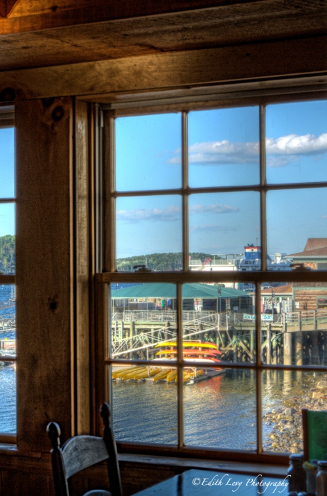 Bar Harbor, Maine, Stewman's Lobster Pound, waterfront,