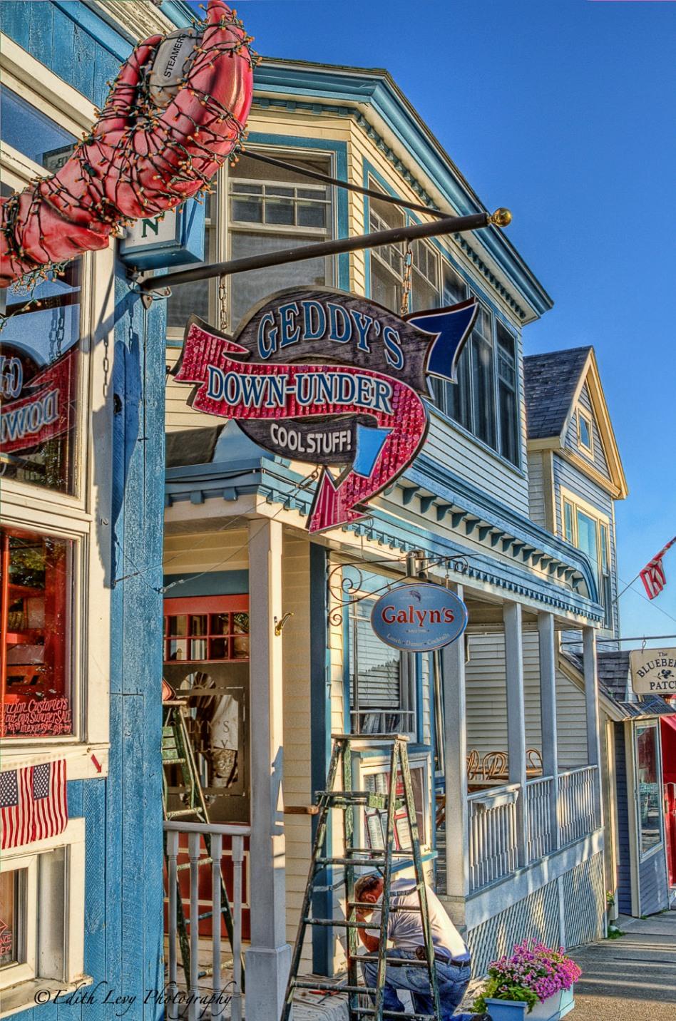 Geddy's, Downunder, Bar Harbor, Main Street, restaurent, bar,