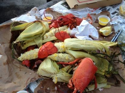 Portland, Maine, Three Sons Lobster & Fish, restaurent, wharf, waterfront, lobster,