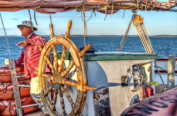 schooner, windjammer, Margaret Todd, Bar Harbor, Maine, travel photography
