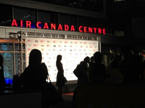TIFF, Toronto International Film Festival, Toronto, movie. gala, opening night, air canada centre