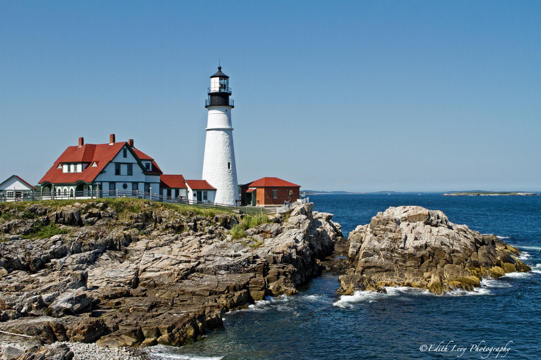 Portland Head, lighthouse, Maine, travel photography, landscape