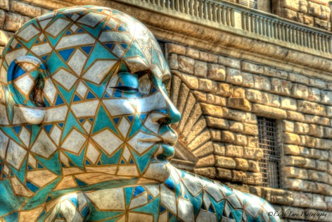 Pitti Palace, Florence, Italy, travel photography, sculpture