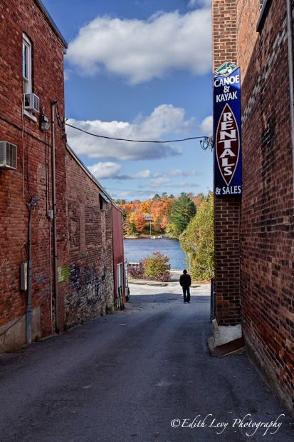 Muskoka, Huntsville, alleyway, fall, lake,