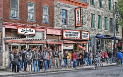 "Schwartz""s Deli, Montreal, St. Lawrence, The Main, smoked meat, travel photography"