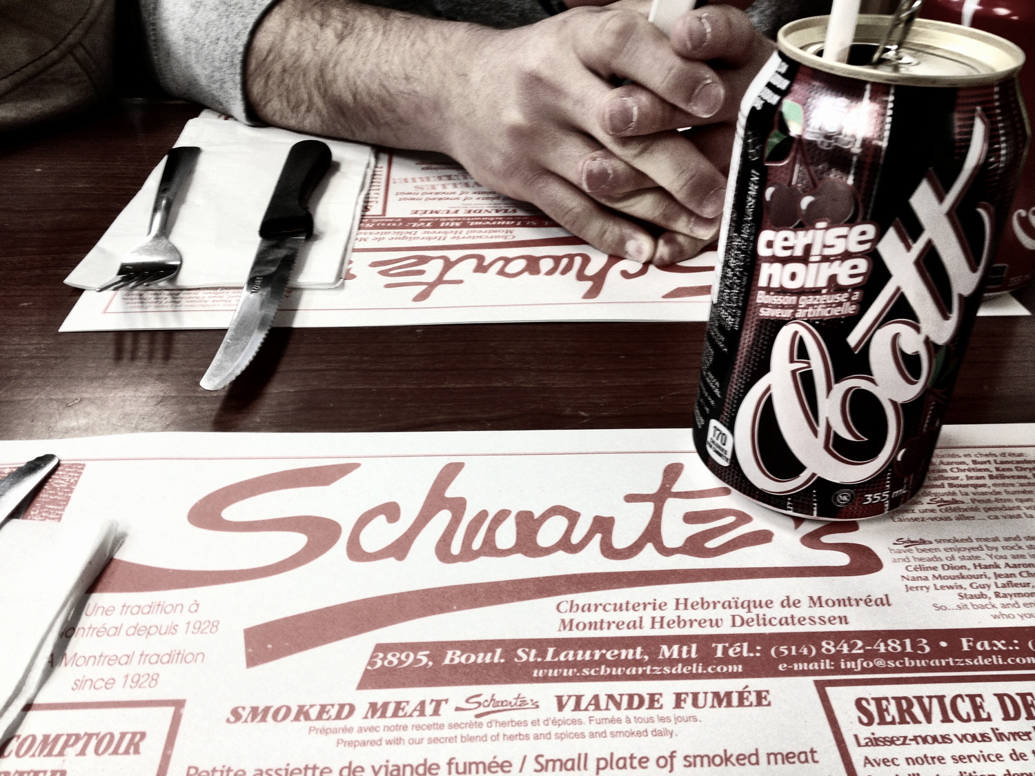 Montreal, Schwartzs, Deli, The Main, St. Lawrence, Smoked Meat