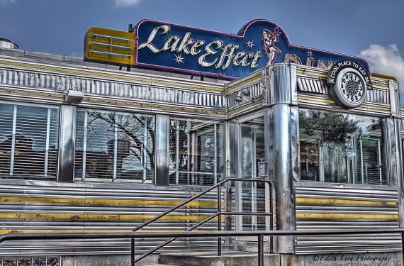 Lake Effects Diner, Buffalo, New York, diner, retro, vintage