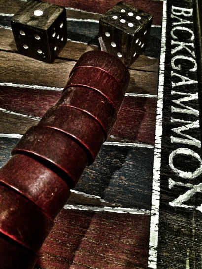 iPhone, iPhoneography, backgammon, game board
