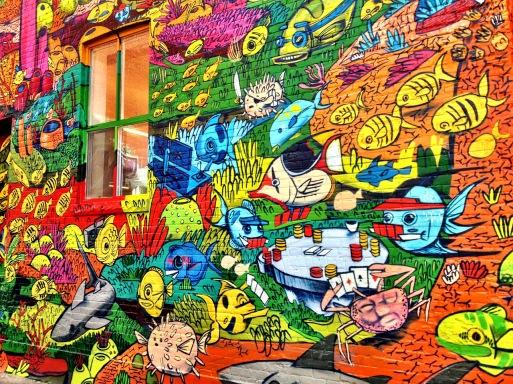 graffiti alley, Toronto, street art, Ontario, iphoneography