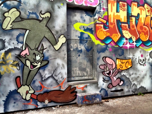 graffiti alley, Toronto, street art, Ontario, iphoneography