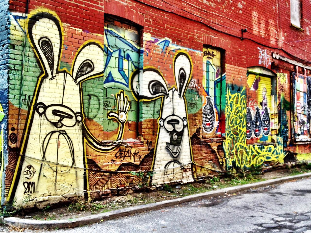 Graffiti wall toronto downtown - Graffiti Alley Street Art Toronto