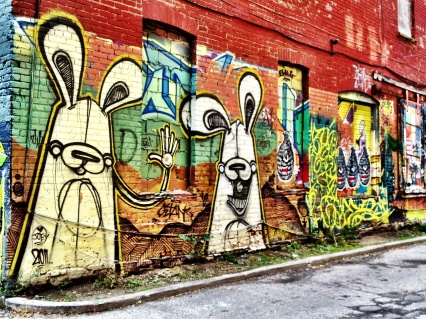 Graffiti Alley, street art, Toronto