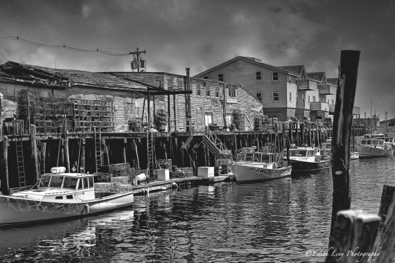 Portland, Maine, pier, fishing, lobster trap, wharf
