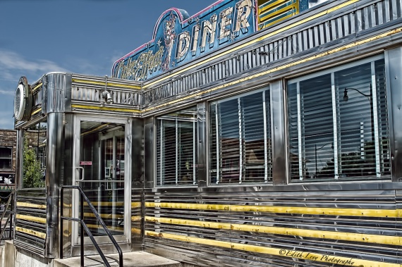 diner, retro, Lake Effects Diner, Buffalo, New York, HDR