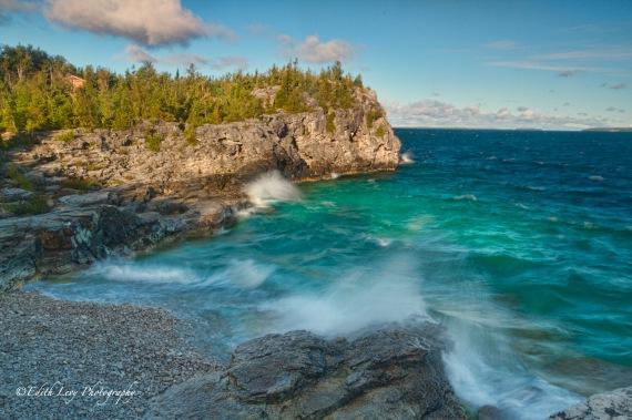 Bruce Peninsula National Park, Georgian Bay, Ontario, seascape,