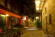 New Orleans, NOLA, St Peters, street, dawn,
