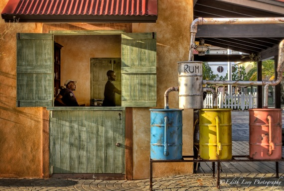 Jamaica, Falmouth, shack, rum, barrels, island, travel photography