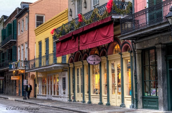New orleans, French Quarter, Royale street, Fleurs de Paris, travel, city