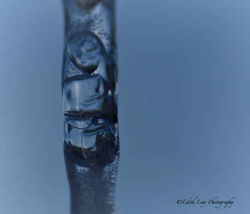 icicle, ice, abstract, macro