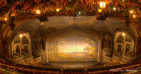 Theatre, Winter Garden theatre, Toronto, historical site, stage, balcony