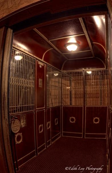 Winter Garden theatre, Elgin Theatre, Toronto, elevator, vintage, operated, interior,