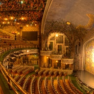 theatre, Winter Garden, Toronto, interior, stage, balcony