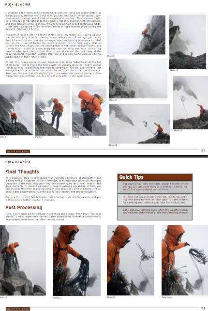 Behind The Action – Creating Adventure Imagery, Step By Step