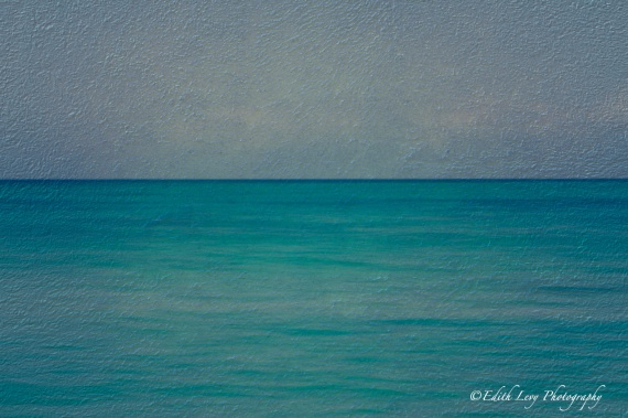 sea, sky, blue, abstract, fine art, Jamaica