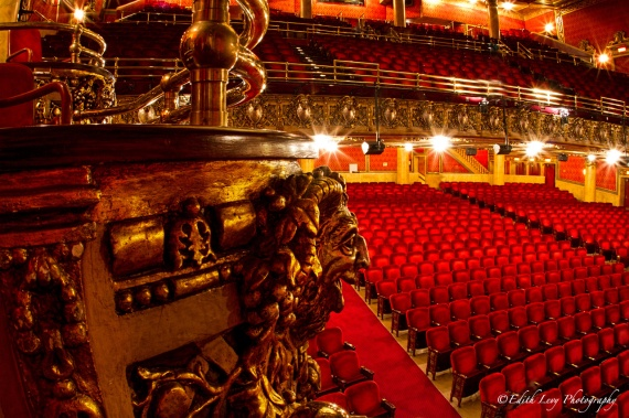 Elgin Theatre, Toronto, Ontario, Balcony, ornate, interior