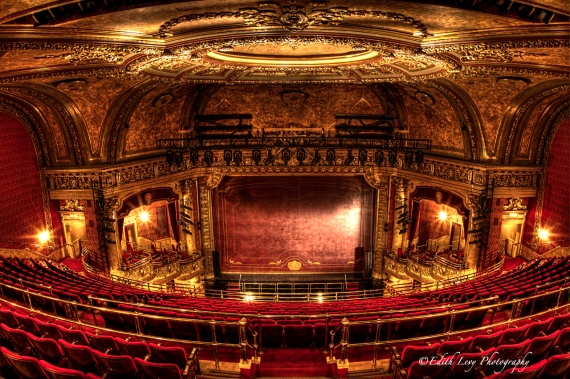 Elgin Theatre, Toronto, Ontario, Balcony, ornate, interior