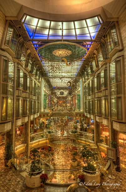 Navigator of the Seas, royal promenade, cruise, ocean, interior HDR,