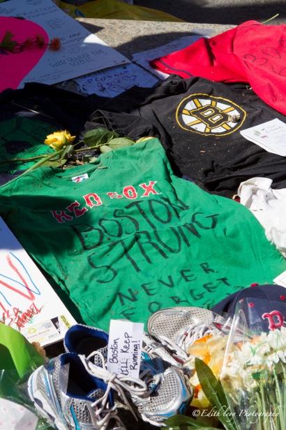 Boston, Memorial, Bolyston street, Marathon, remembering, Boston Strong