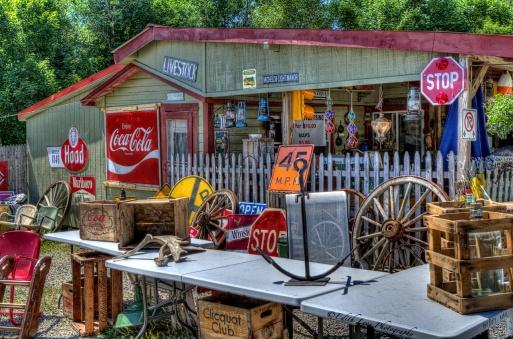 Maine, flea market, vintage, collectable, travel photography