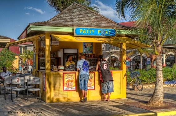 Jamaica, Falmouth, shack, island, port