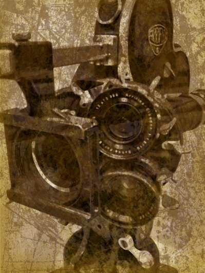 movie camera, CBC, Canadian Broadcasting Company, Toronto, Grungetastic, iphoneography