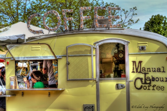 Food Truck, Coffee, Peller Estates, Niagara on the Lake, Ontario, coffee truck,