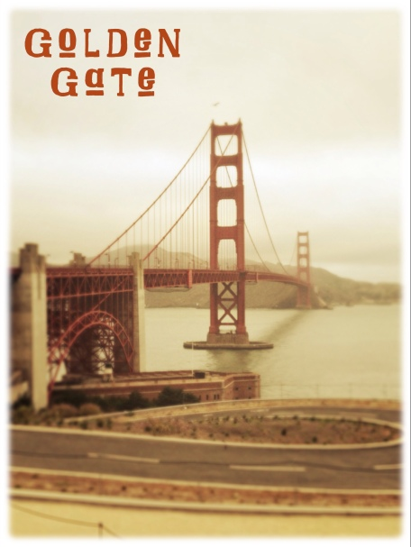 San Francisco, California, Golden Gate Bridge, sunrise, iphoneography, Snapseed, PhotoToaster, Over
